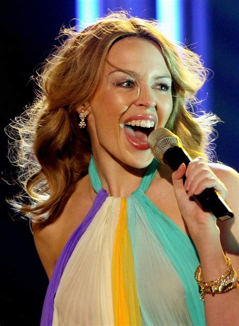 Kylie Minogue Tongue | Superficial Gallery