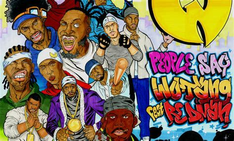 Wu-Tang Clan return for new single 'People Say' featuring
