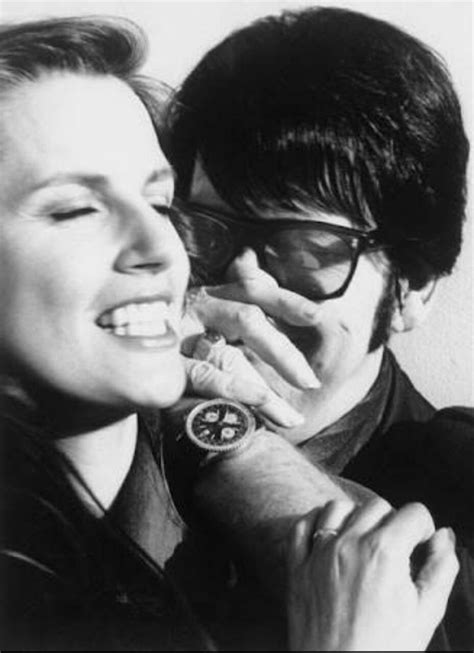 Roy Orbison with his wife Barbara   Roy orbison, Rock and