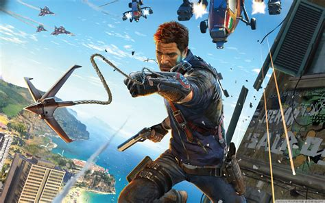 Just Cause 3 Video Game 2015 Ultra HD Desktop Background